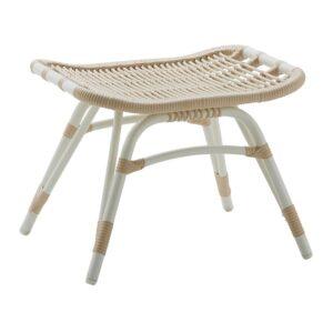 Monet footstool - Dove white