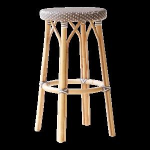 Simone bar stool - Brown